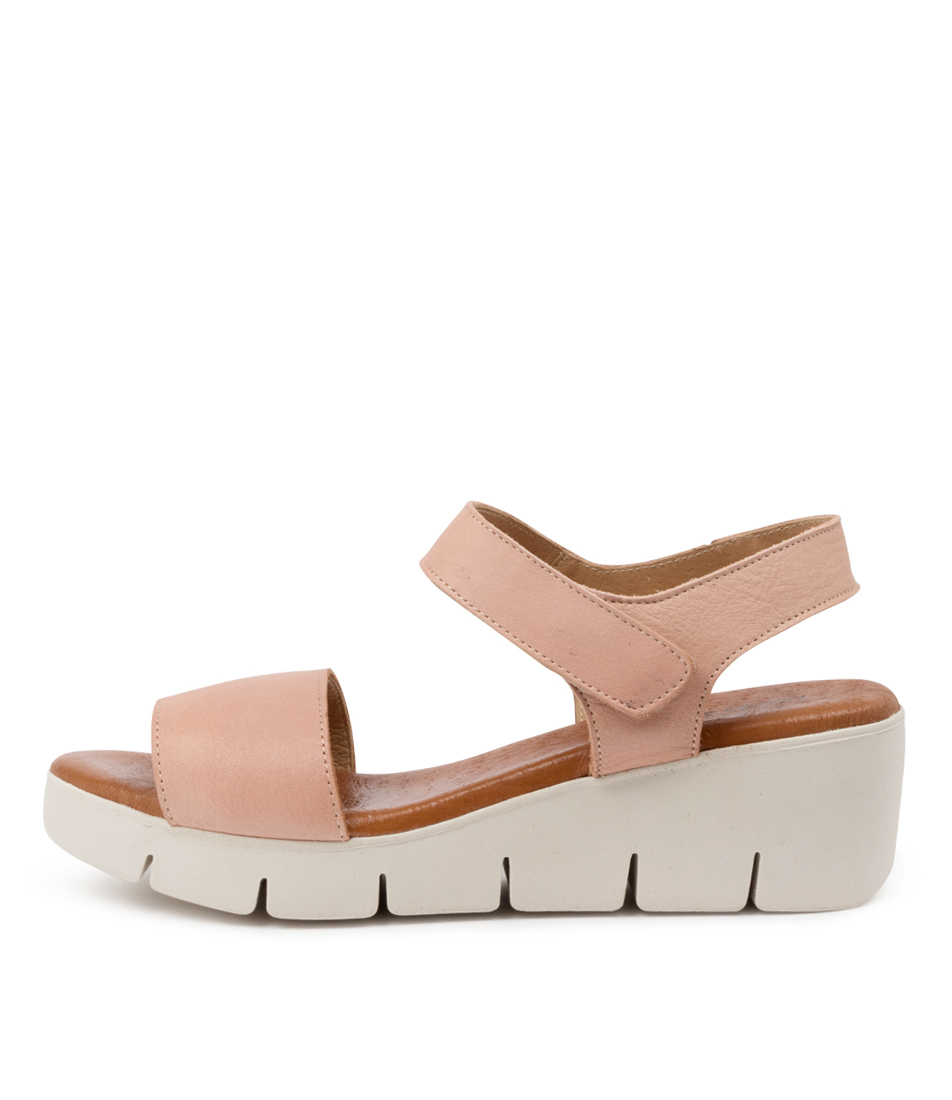 Buy Django & Juliette Gines Dj Nude Flat Sandals online with free shipping