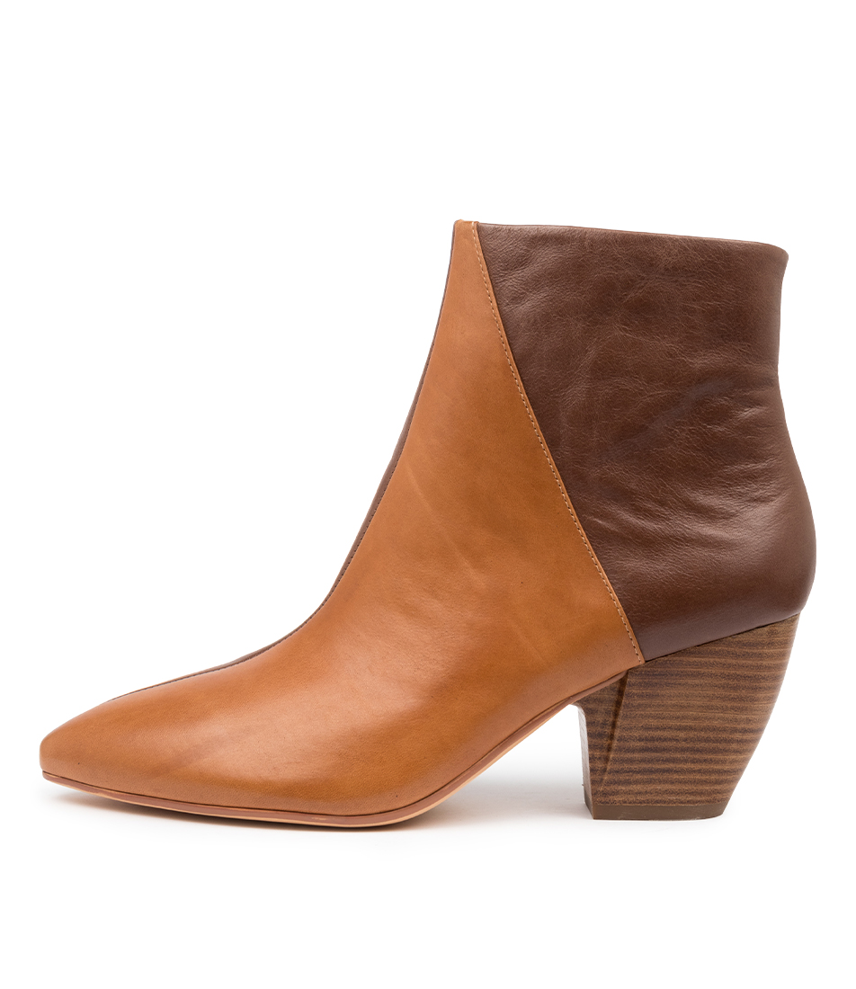 Buy Django & Juliette Agro Dj Tan Choc Ankle Boots online with free shipping