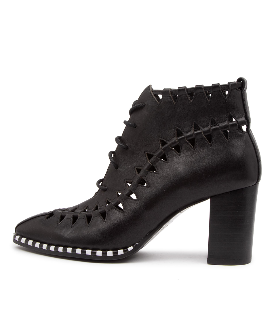 Buy Django & Juliette Angoria Dj Black Ankle Boots online with free shipping