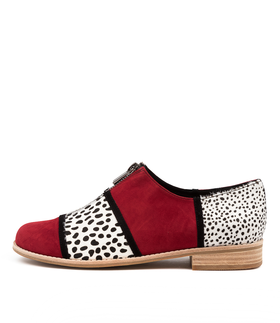 Buy Django & Juliette Align Dj Red Dot Flats online with free shipping