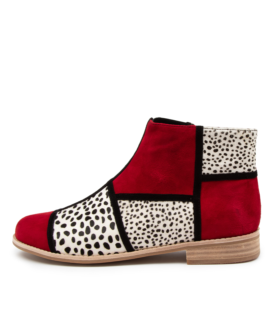 Buy Django & Juliette Abbeye Dj Red Dot Ankle Boots online with free shipping