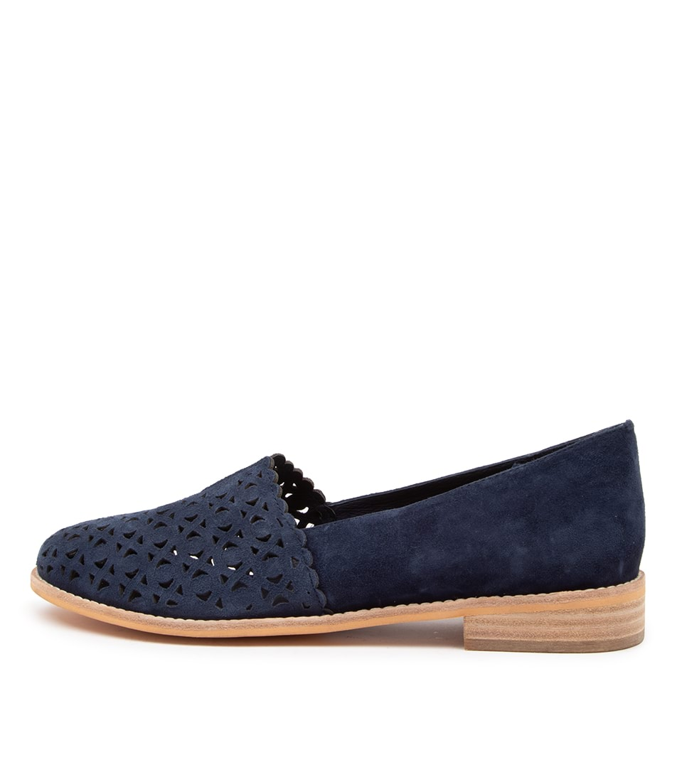 Buy Django & Juliette Afford Dj Navy Flats online with free shipping