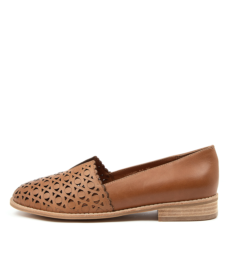 Buy Django & Juliette Afford Dj Tan Flats online with free shipping