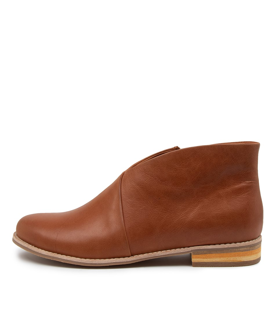 Buy Django & Juliette Antarin Dj Cognac Ankle Boots online with free shipping