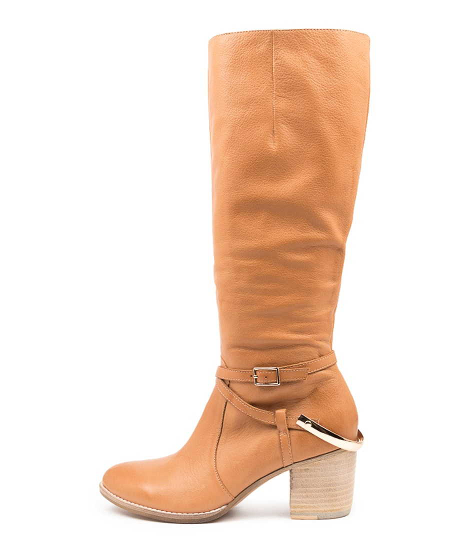 Buy Django & Juliette Benji Dj Dk Tan Long Boots online with free shipping