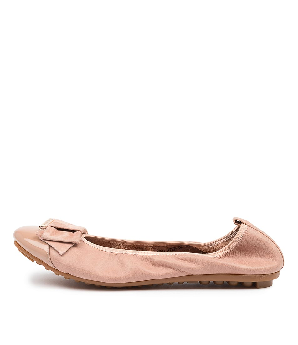 Buy Django & Juliette Brighter Dj Blush Flats online with free shipping