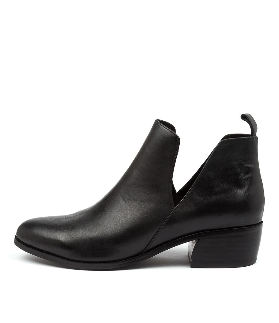 Buy Django & Juliette Cruz Dj Black Heel Ankle Boots online with free shipping