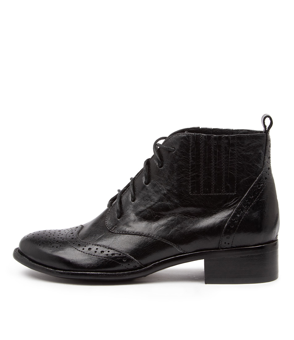 Buy Django & Juliette Claris Dj Black Ankle Boots online with free shipping