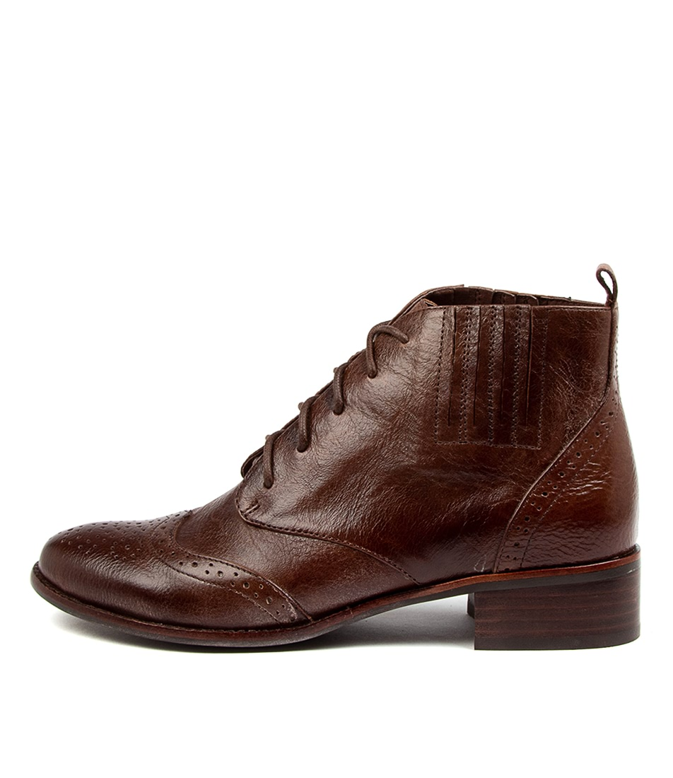 Buy Django & Juliette Claris Dj Choc Ankle Boots online with free shipping