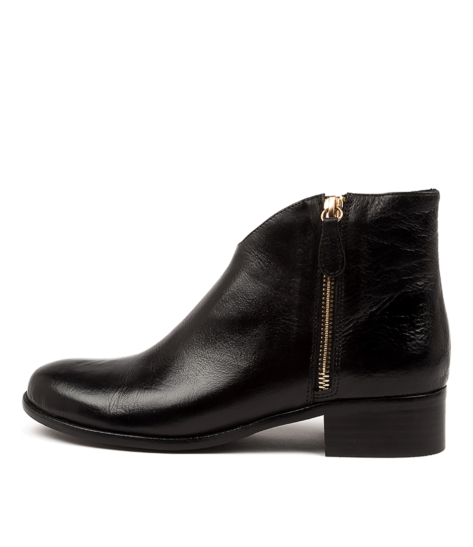 Buy Django & Juliette Chinsty Dj Black Ankle Boots online with free shipping