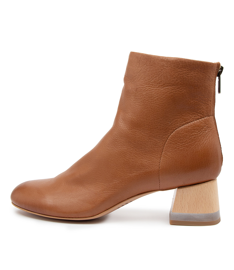 Buy Django & Juliette Collie Dj Cognac Ankle Boots online with free shipping