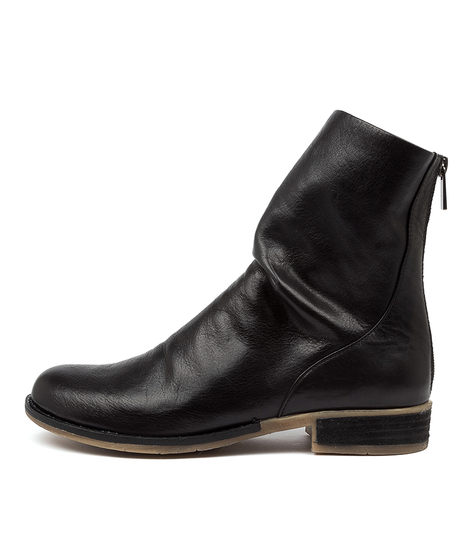 Buy Django & Juliette Carlo Dj Black Ankle Boots online with free shipping