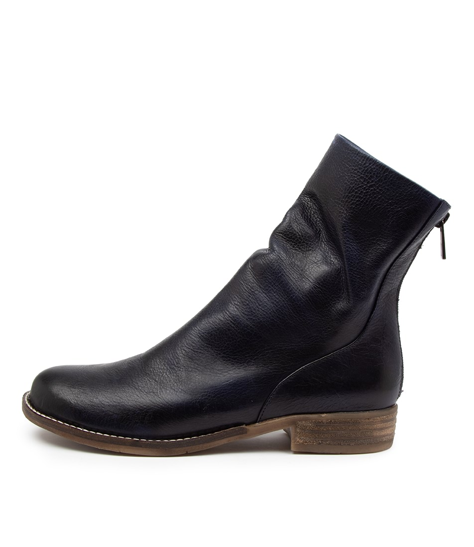 Buy Django & Juliette Carlo Dj Navy Ankle Boots online with free shipping