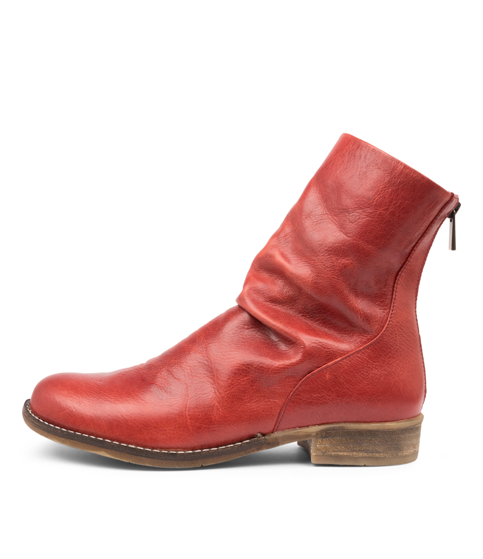 Buy Django & Juliette Carlo Dj Red Ankle Boots online with free shipping