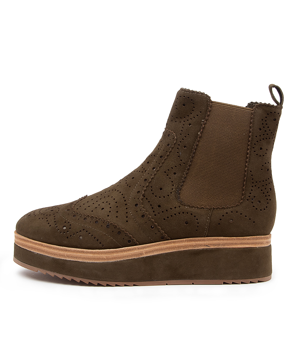 Buy Django & Juliette Couple Dj Olive Ankle Boots online with free shipping