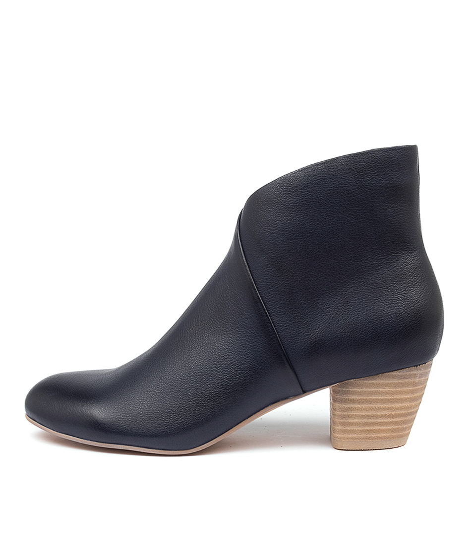 Buy Django & Juliette Desire Dj Navy Ankle Boots online with free shipping