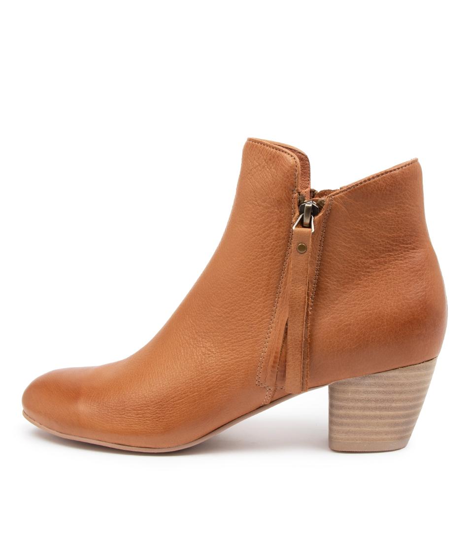 Buy Django & Juliette Demanse Dj Dk Tan Ankle Boots online with free shipping