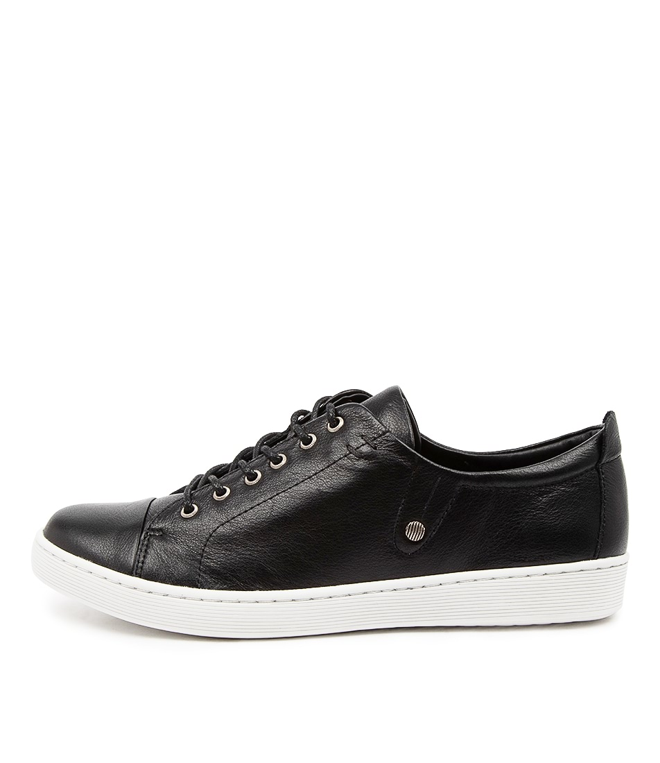 Buy Django & Juliette Dempsere Dj Black White Sole Sneakers online with free shipping
