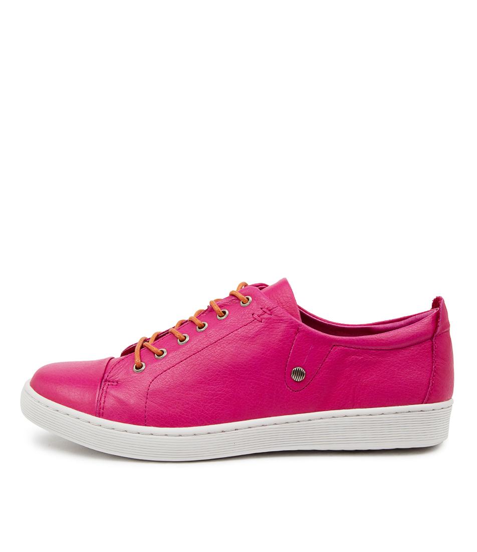 Buy Django & Juliette Dempsere Dj Fuchsia Orange Sneakers online with free shipping