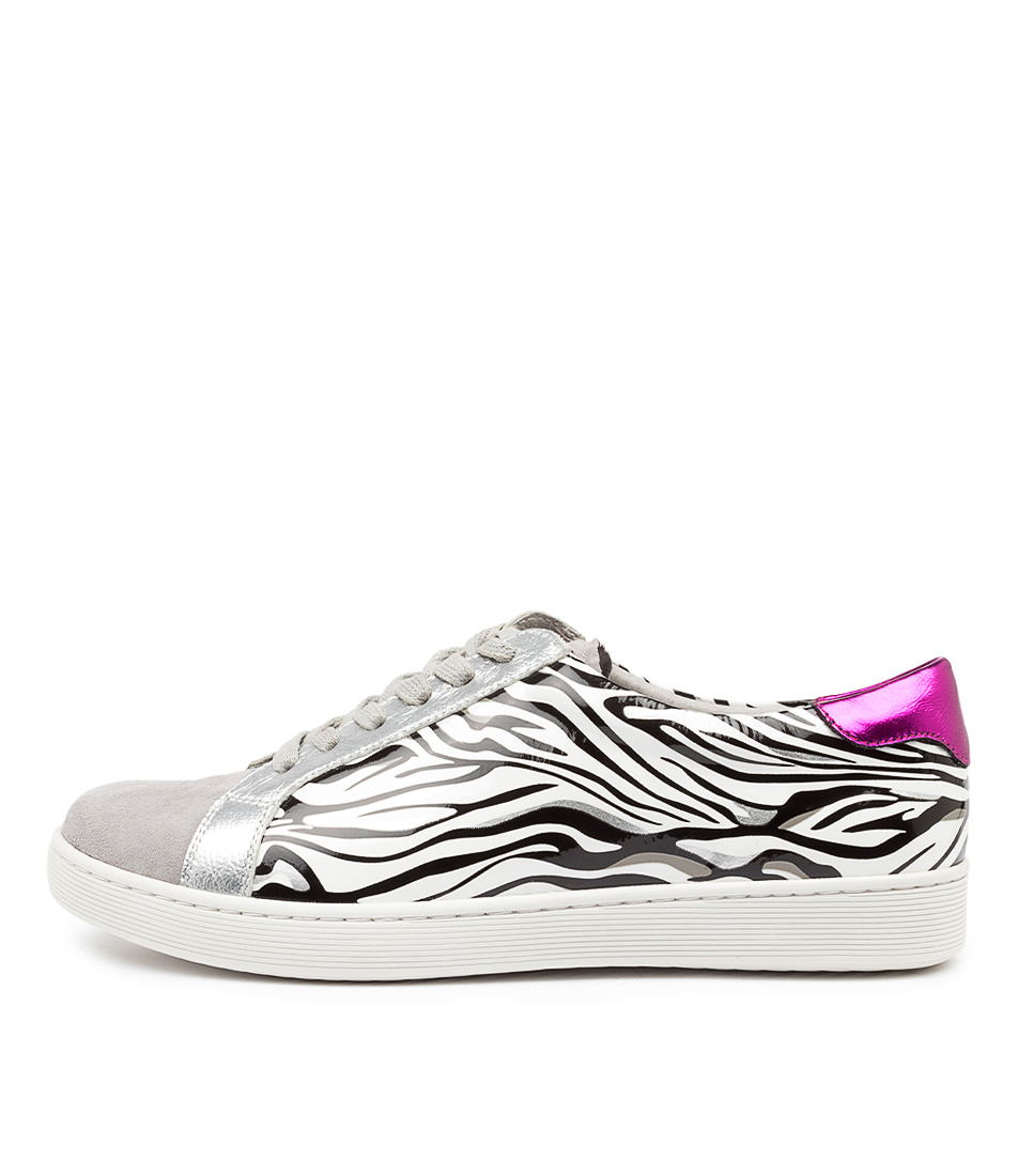 Buy Django & Juliette Daja Dj Zebra Sneakers online with free shipping