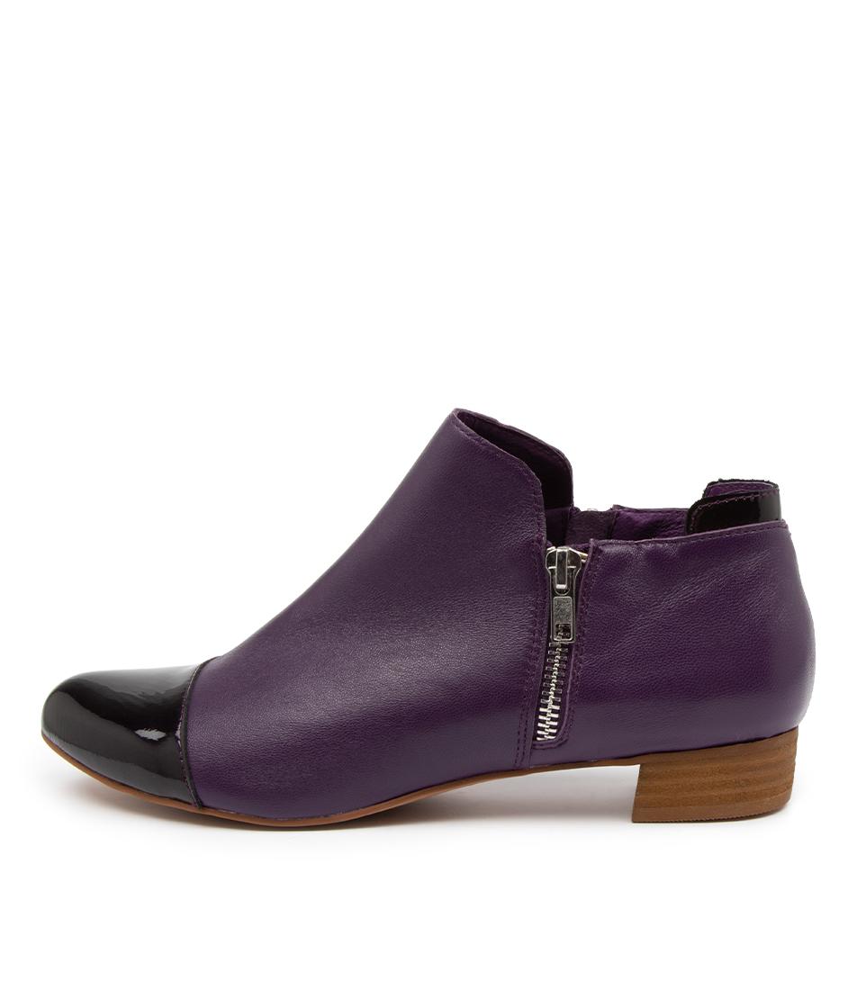 Buy Django & Juliette Enjay Dj Purple Flats online with free shipping