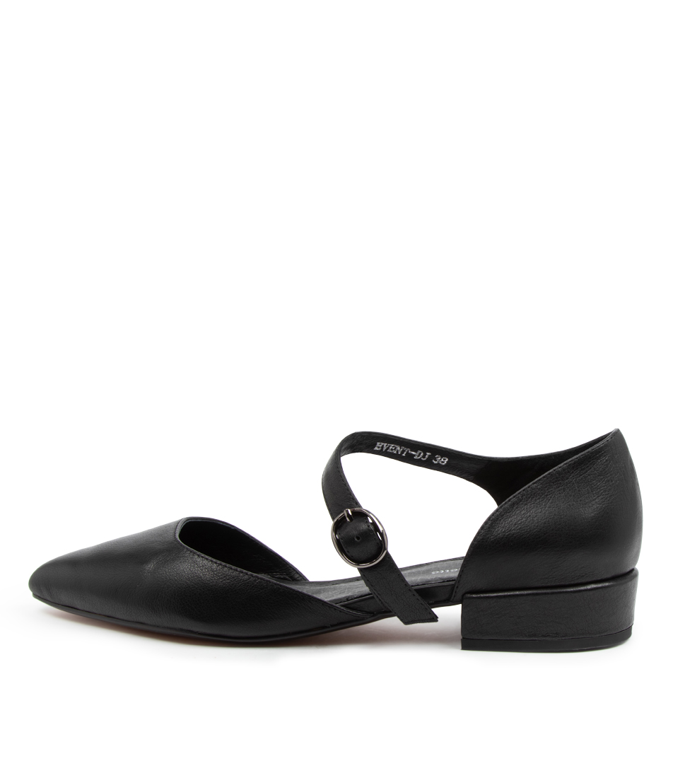 Buy Django & Juliette Event Dj Black Flats online with free shipping