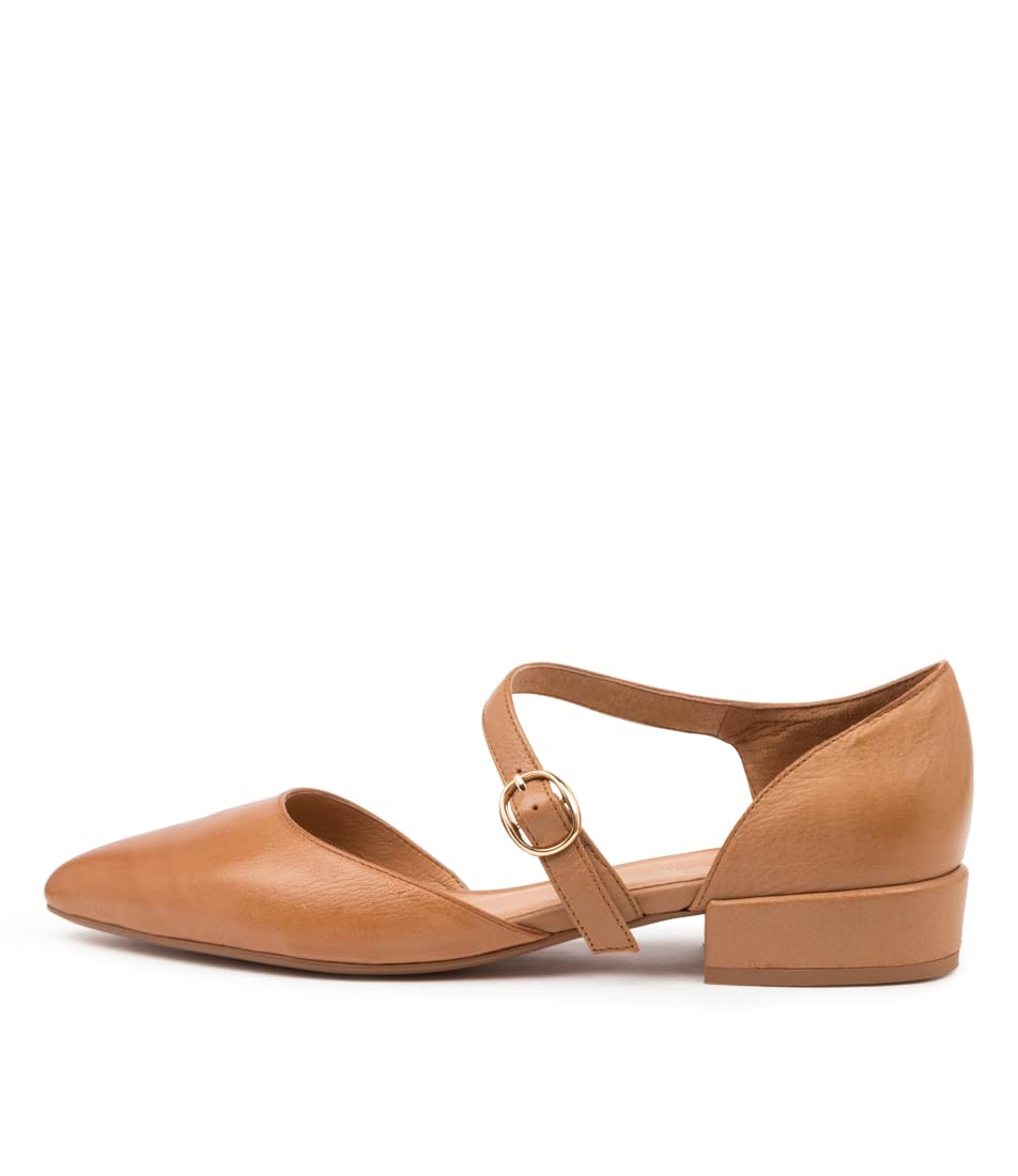 Buy Django & Juliette Event Dj Tan Flats online with free shipping