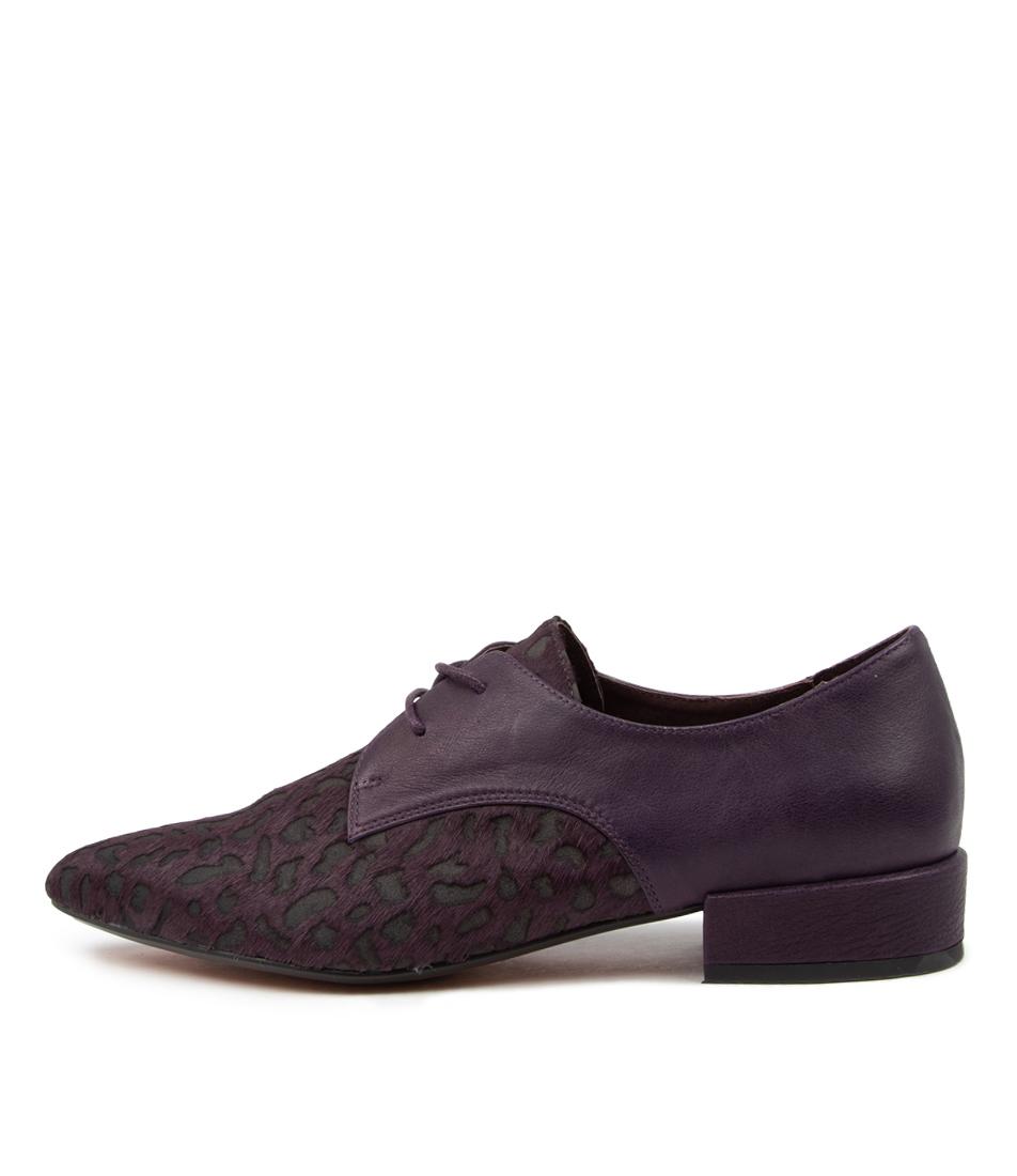 Buy Django & Juliette Egos Dj Purple Dot Purple Flats online with free shipping
