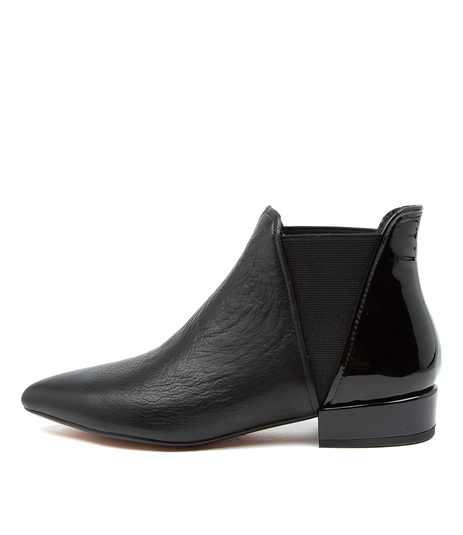 Buy Django & Juliette Evelyn Dj Black Ankle Boots online with free shipping