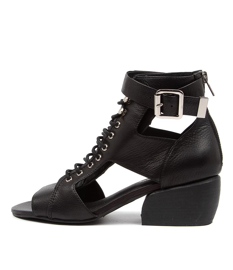 Buy Django & Juliette Earnings Dj Black Heel Heeled Sandals online with free shipping