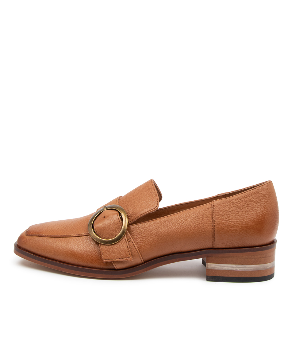 Buy Django & Juliette Farrah Dj Dk Tan High Heels online with free shipping