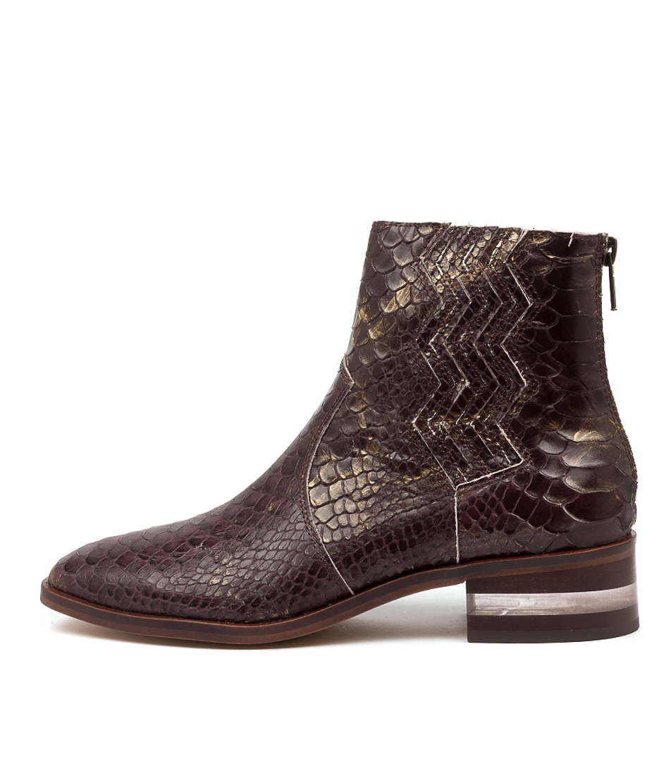 Buy Django & Juliette Frappy Dj Choc Ankle Boots online with free shipping