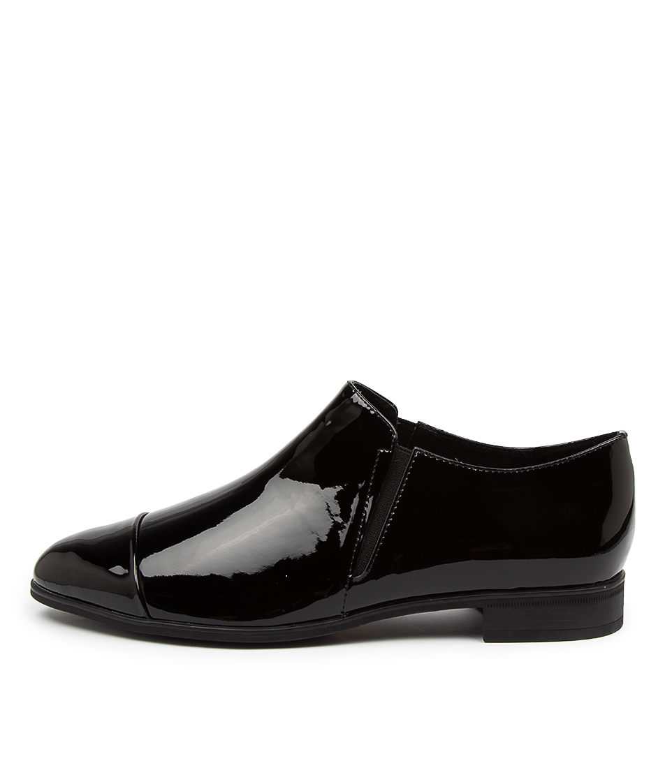 Buy Django & Juliette Gerrit Dj Black Flats online with free shipping