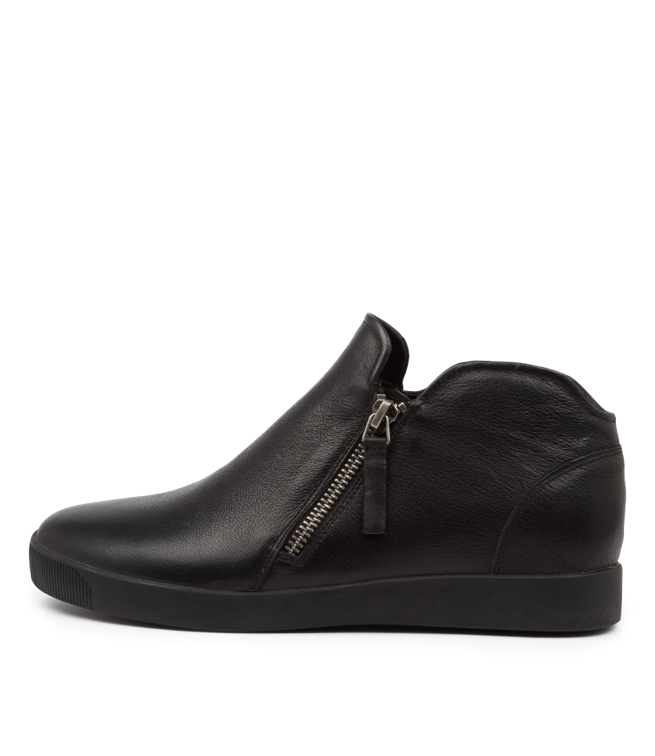 Buy Django & Juliette Gleed Dj Black Ankle Boots online with free shipping