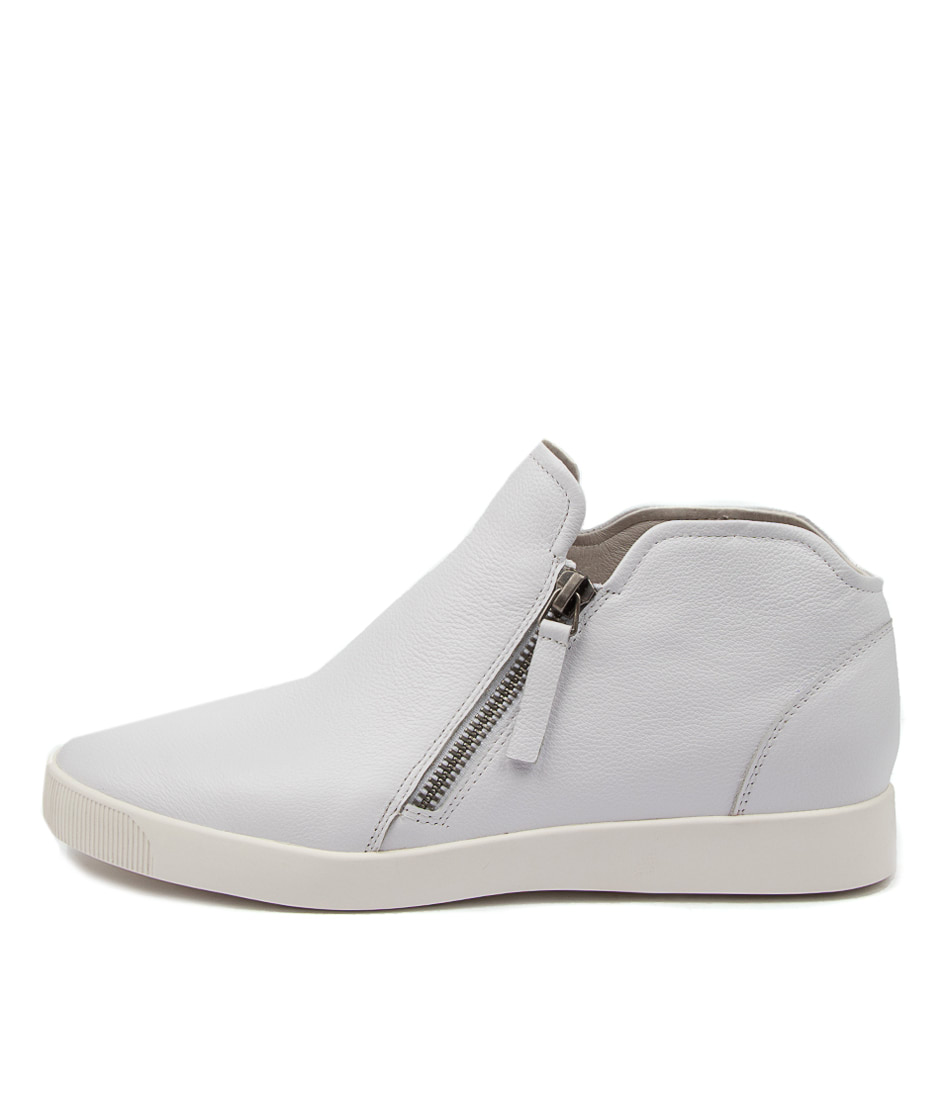 Buy Django & Juliette Gleed Dj White Ankle Boots online with free shipping