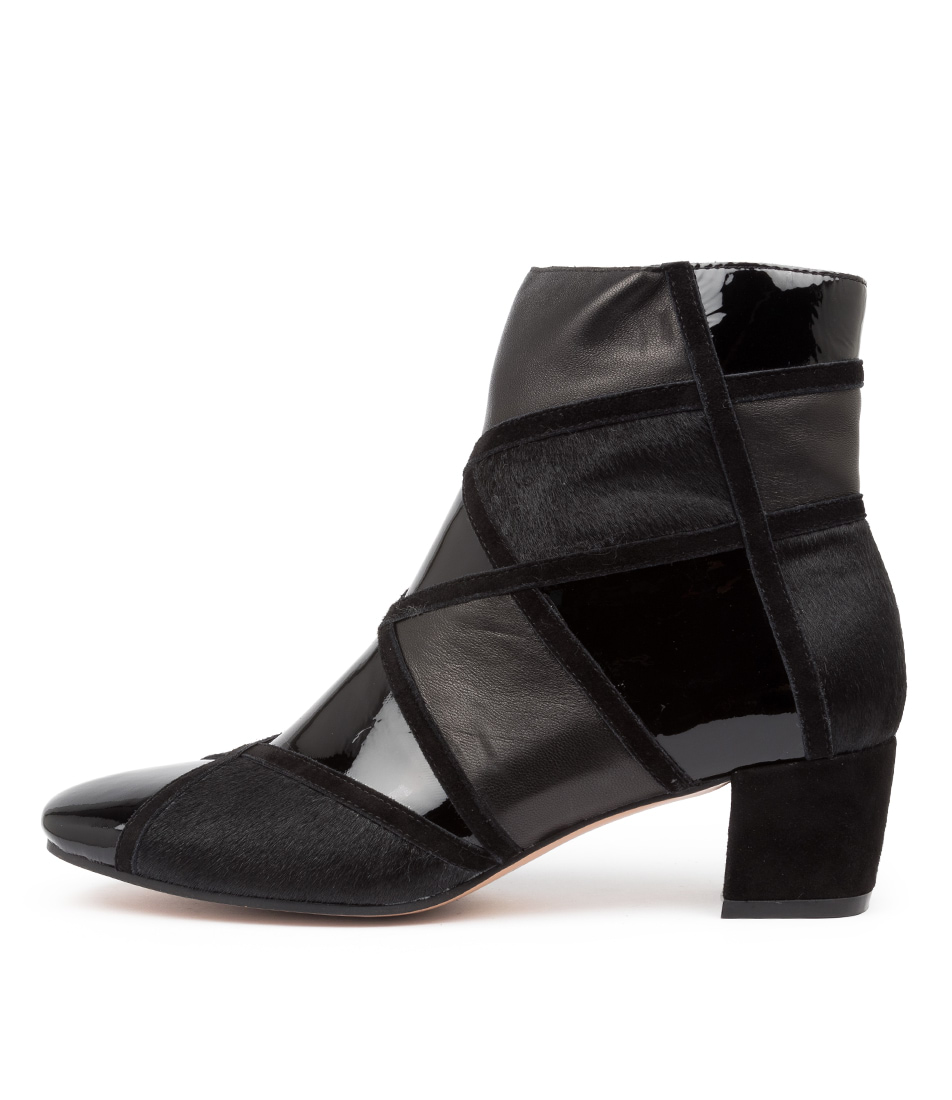 Buy Django & Juliette Helo Dj Black Dress Ankle Boots online with free shipping