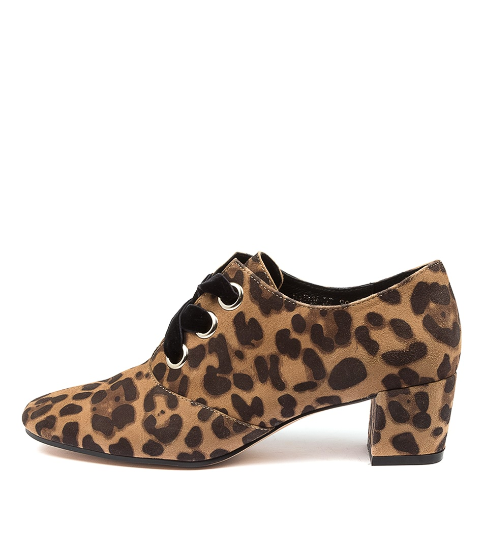 Buy Django & Juliette Harem Dj Tan Leopard High Heels online with free shipping