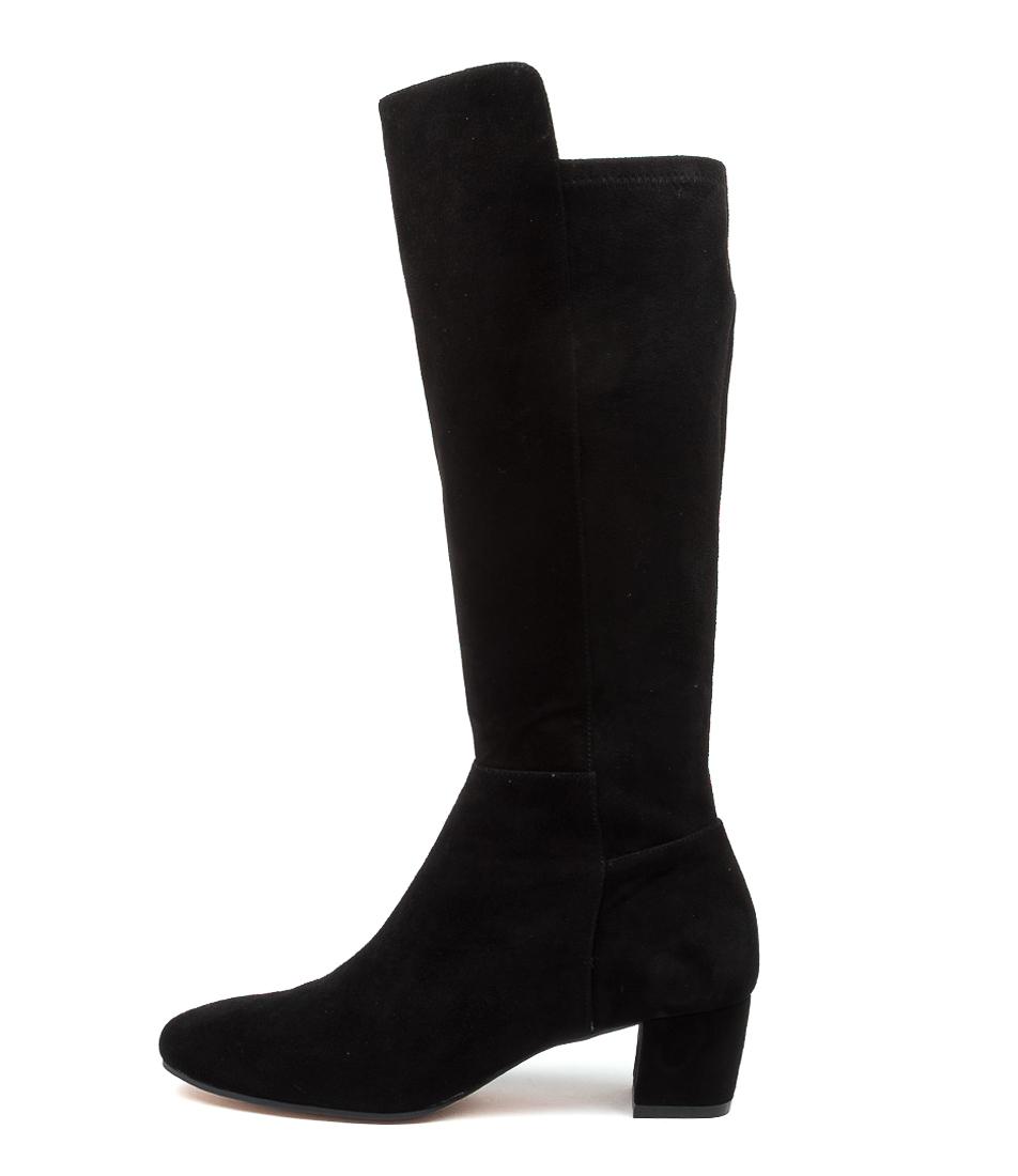 Buy Django & Juliette Harper Dj Black Long Boots online with free shipping