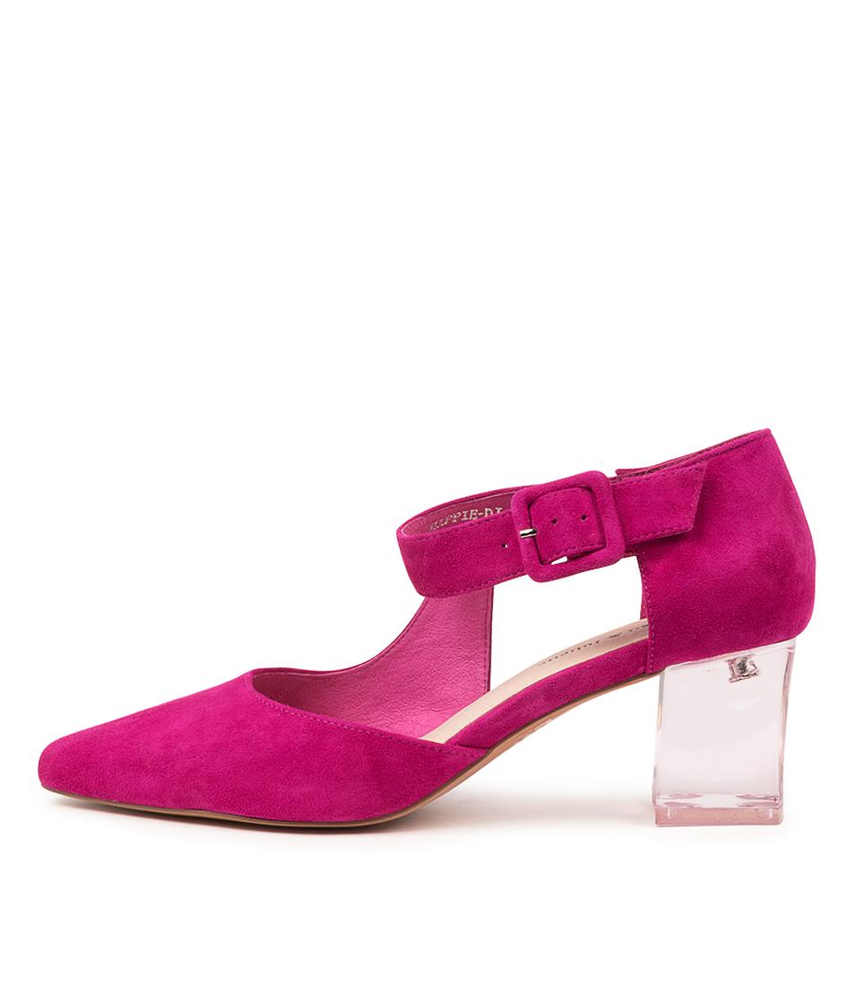 Buy Django & Juliette Happie Dj Fuchsia High Heels online with free shipping