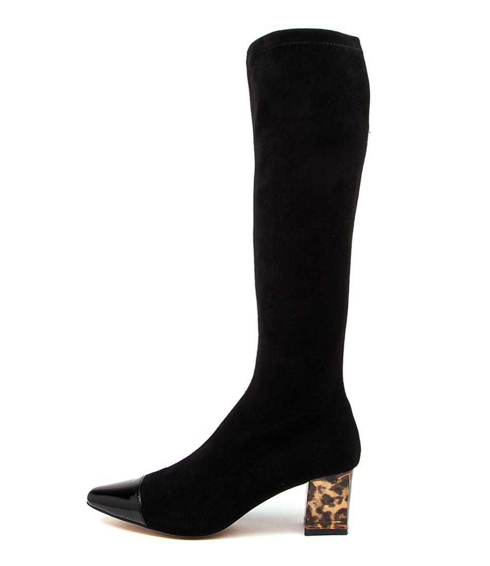 Buy Django & Juliette Harris Dj Black Dress Long Boots online with free shipping