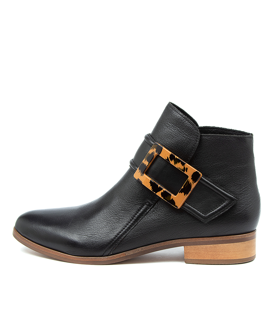 Buy Django & Juliette Inquest Dj Black Ankle Boots online with free shipping