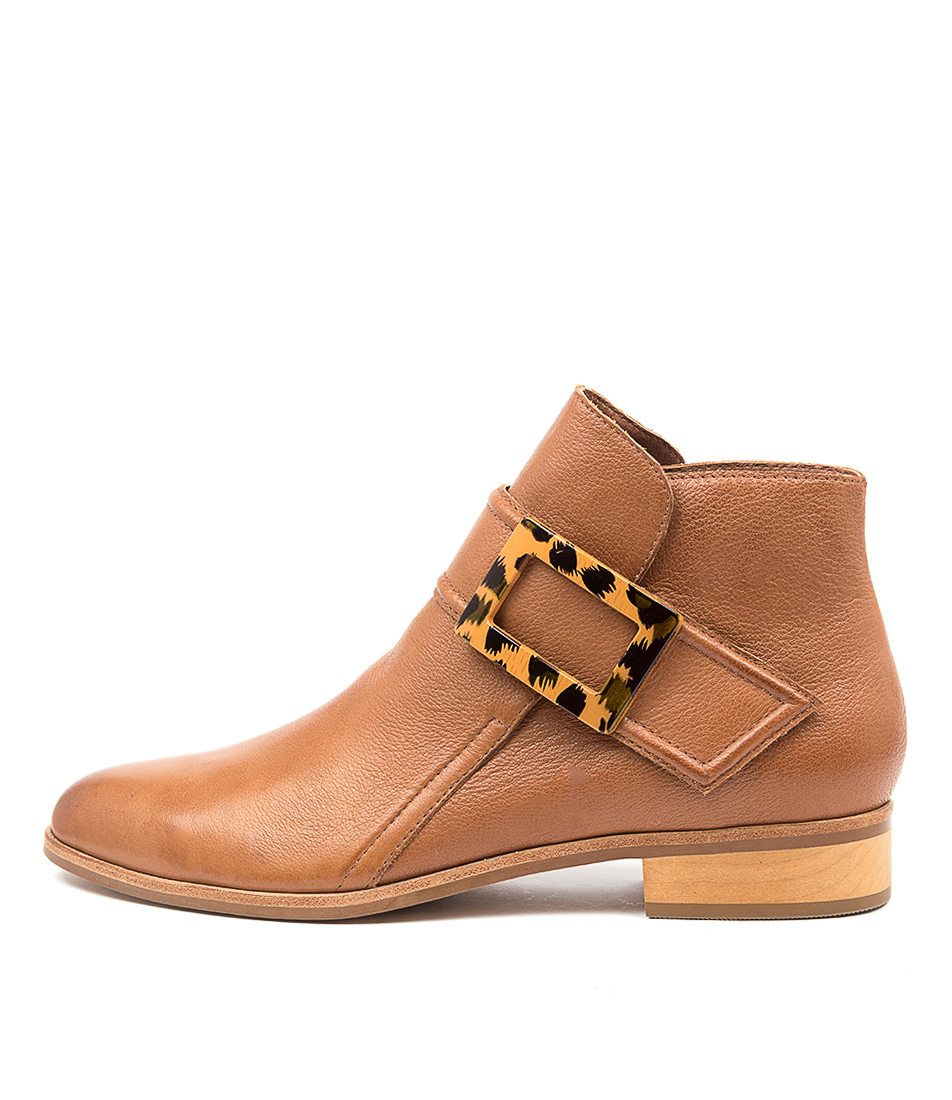 Buy Django & Juliette Inquest Dj Cognac Ankle Boots online with free shipping