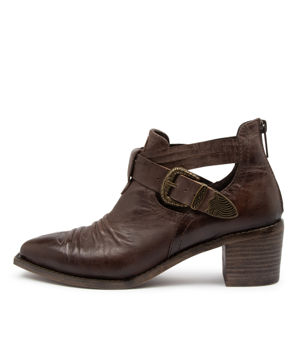 Buy Django & Juliette Izora Dj Choc Ankle Boots online with free shipping