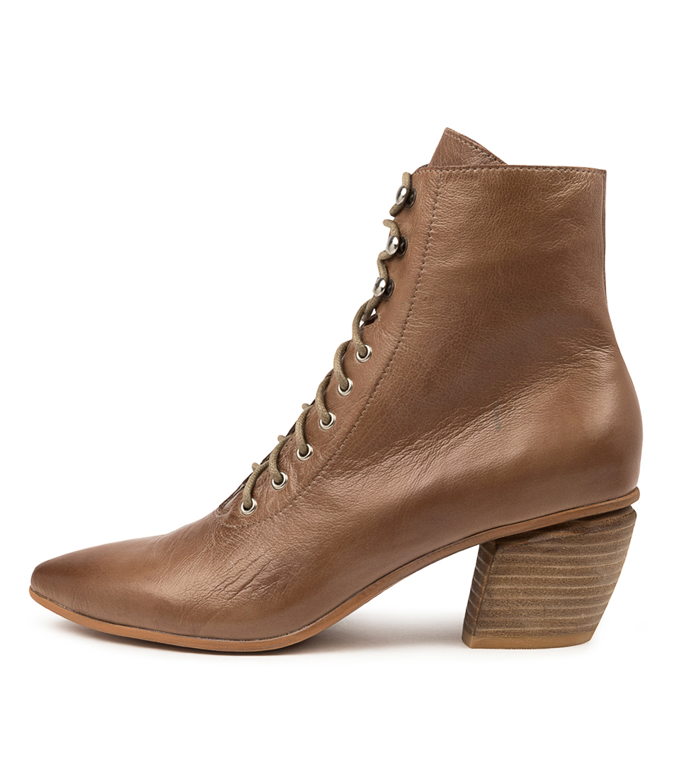 Buy Django & Juliette Jujus Dj Warm Taupe Ankle Boots online with free shipping