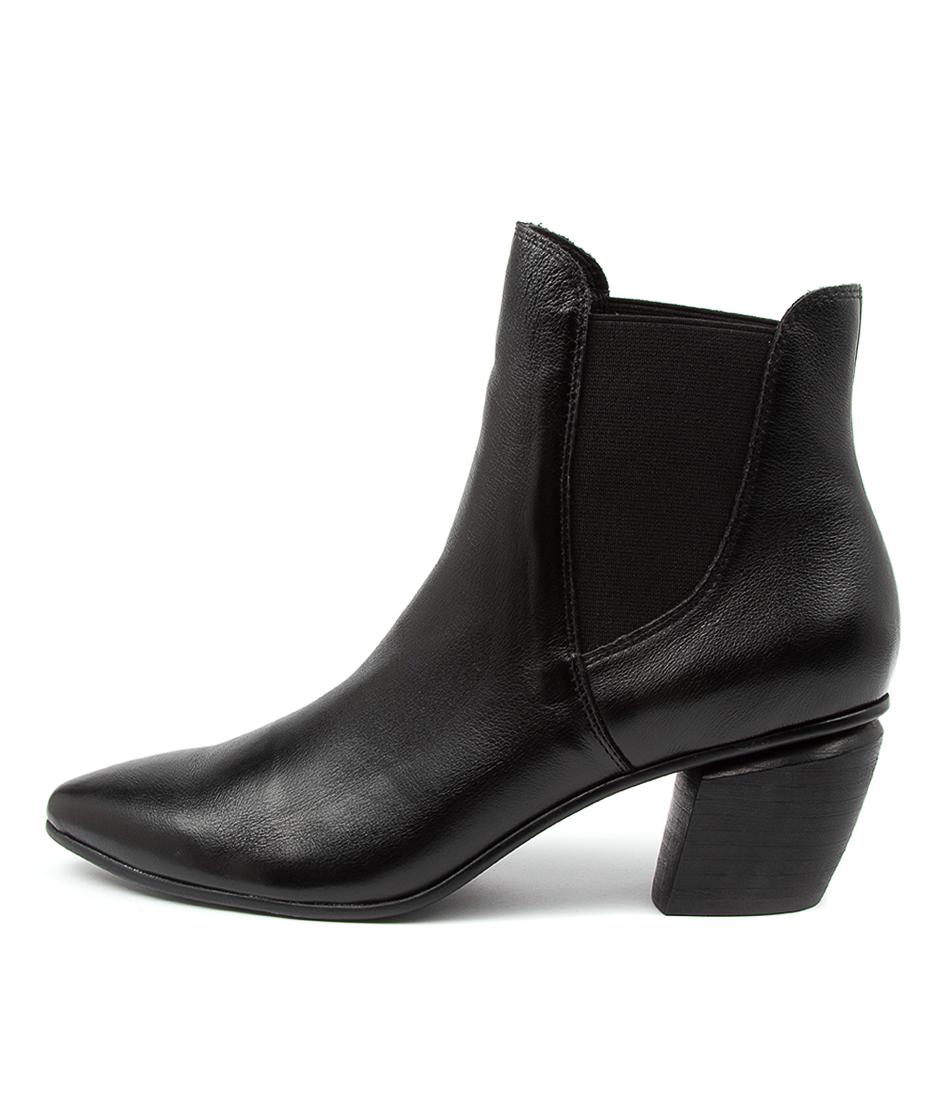 Buy Django & Juliette Jinks Dj Black Heel Ankle Boots online with free shipping