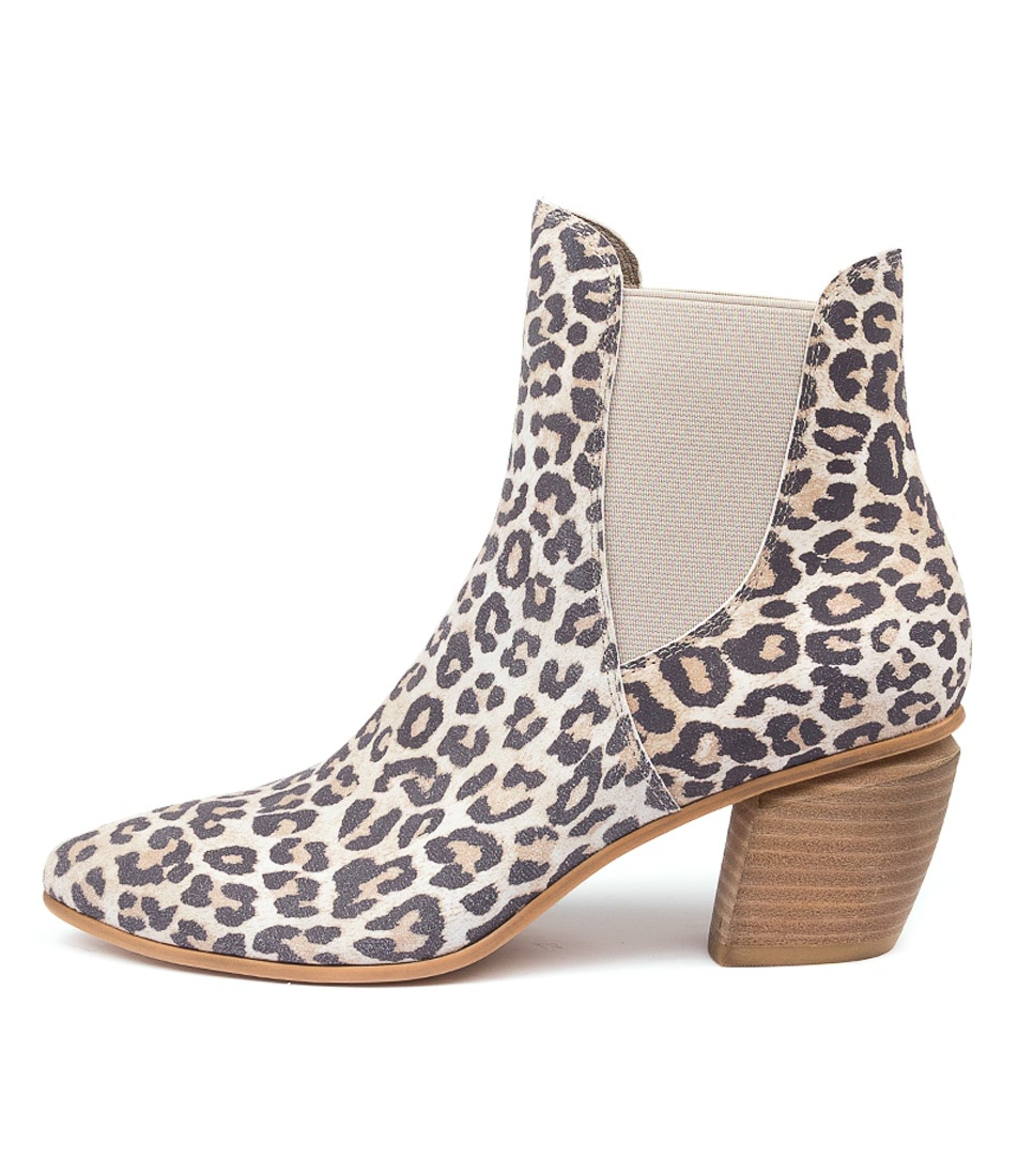 Buy Django & Juliette Jinks Dj Taupe Ankle Boots online with free shipping