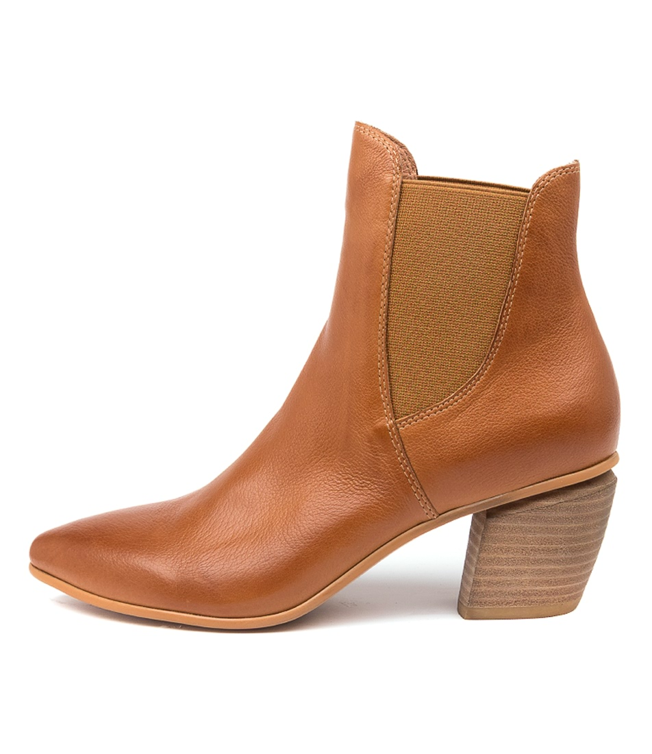 Buy Django & Juliette Jinks Dj Tan Ankle Boots online with free shipping
