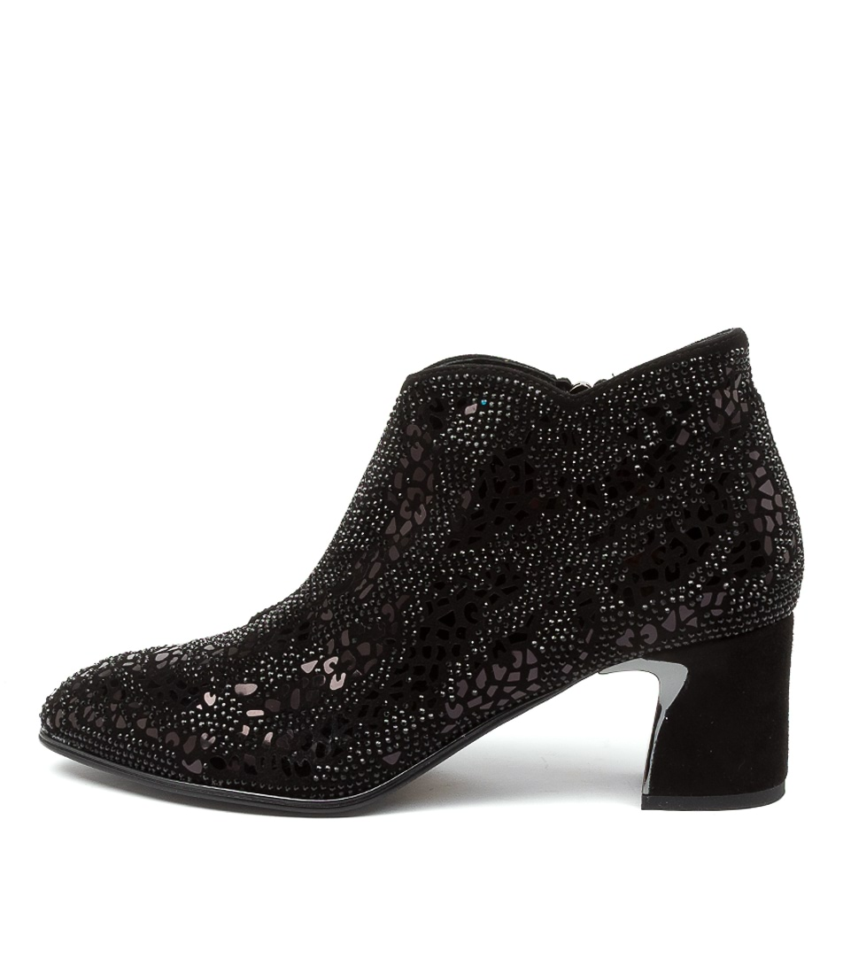 Buy Django & Juliette Jonquil Dj Black Ankle Boots online with free shipping