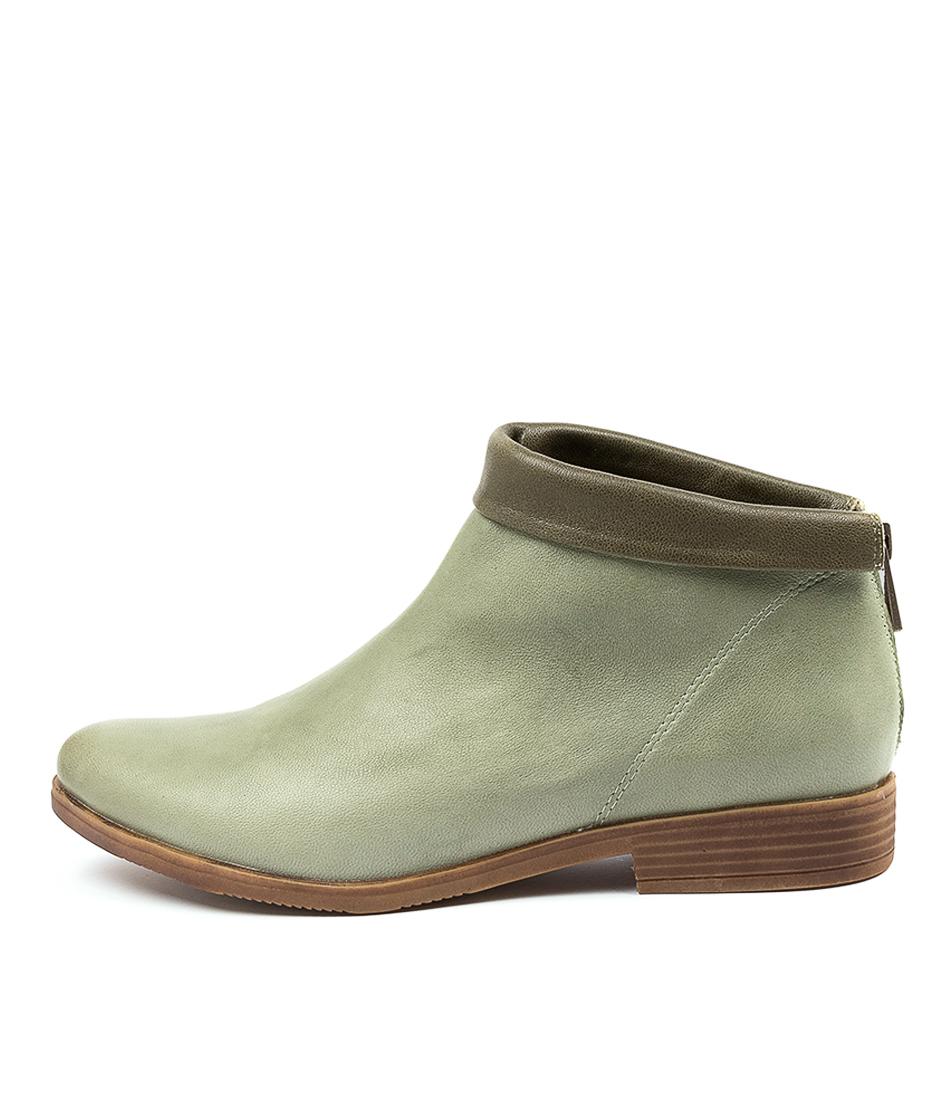 Buy Django & Juliette Konny Dj Sage Forest Ankle Boots online with free shipping