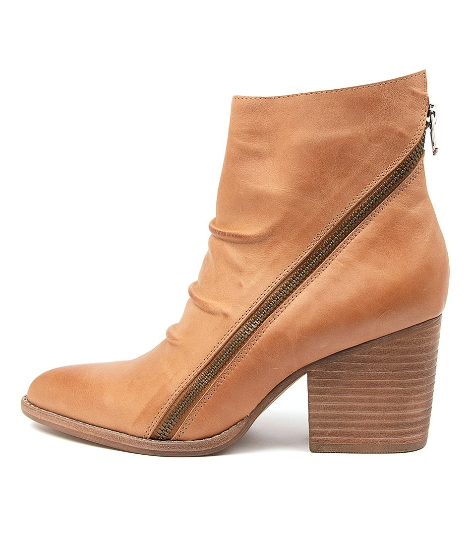 Buy Django & Juliette Kopke Dj Tan Ankle Boots online with free shipping